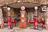 Vintage Route 66 Gas Station — Foto Stock