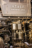 Locomotive Engine Close Up — Stock Photo