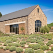 Rustic Stone Winery Building — Stock Photo