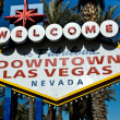 Royalty-Free Stock Photo: Downtown Las Vegas Sign