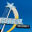 Vintage Motel Vacancy Sign — Stock Photo