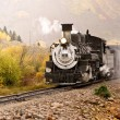 Постер, плакат: Rocky Mountain Steam Train