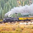 Rocky Mountain Train Adventure - Stock Photo