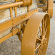 Steel Wagon Wheels — Stock Photo