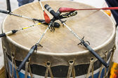 Pow Wow Drum — Foto Stock