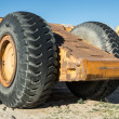 Royalty-Free Stock Photo: Big Heavy Duty Wheels