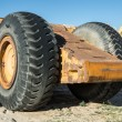 Big Heavy Duty Wheels — Stock Photo
