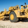 Stock Photo: Caterpillar Scraper