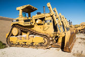 Earth Moving Bulldozers — Stock Photo