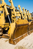 Earth Moving Equipment — 图库照片