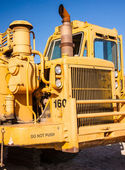 Earth Mover Driver's Cab — Stock Photo
