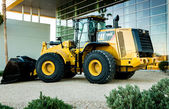 Caterpillar 966K Loader — 图库照片