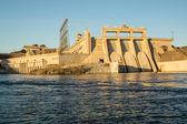 Davis Dam on the Colorado River — Stock Photo