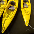 Yellow Kayaks — Stock Photo