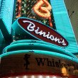 Neon Sign on Fremont Street — Stockfoto