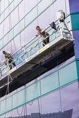 Window Cleaners — Stock Photo