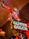 March Madness at Glitter Gulch — Stock Photo