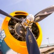 Cowling and Propeller — Stock Photo