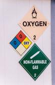 Toxic Warnings — Stock Photo