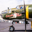 Stock Photo: World War II B-25 Bomber