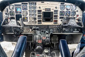 Airplane Cockpit — Stock Photo