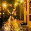 Rainy Night in Old Town — Stock Photo