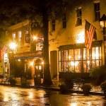 Sparkling Pub Lights — Stock Photo