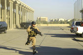 Baghdad Iraq Security Mission — Stock Photo