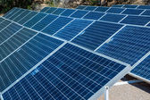 Solar Power Panels — Stock Photo