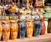 Mexican Pottery Shop — Stock Photo