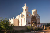 Spanish Mission Near Sunset — Stockfoto