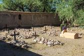 特派团的墓地 — 图库照片