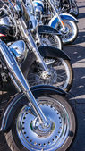 Motorcycle Front Wheels — Stock Photo
