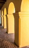 Colonnade at Mission Tumacacori — Fotografia Stock