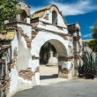 Spanish Colonial Mission Gateway — Stock Photo