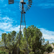 Old West Windmill — Stock Photo
