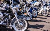 Motorcycle Wheels — Stock Photo