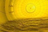 Patrones abstractos dentro de un globo de aire caliente — Foto de Stock