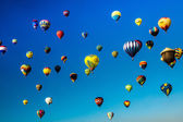 The Sky Is Alive with Balloons — Stock Photo