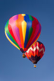 Hot Air Balloons in the Sky — Stock Photo