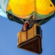 Ascending in a Hot Air Balloon — Stock Photo