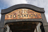 Train Station Entryway — Stock Photo