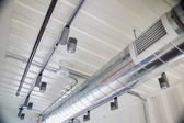 Exposed Ductwork in Design — Stock Photo