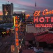 Historic El Cortez Landmark — Stock Photo