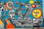 Mega Murals in Downtown Las Vegas — Stock Photo