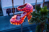 Ruby Slipper Landmark — Stock Photo