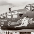 Antique WWII Bomber — Stock Photo #40875539