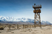 Manzanar Watch Tower — Stock Photo