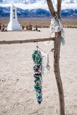 Manzanar Memorail and a Thousand Cranes — Stock Photo