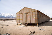 Manzanar Detention Center Braacks Housing — Stock Photo